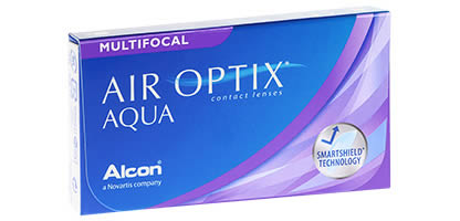 Air Optix Aqua Multifocal Lentilles de Contact