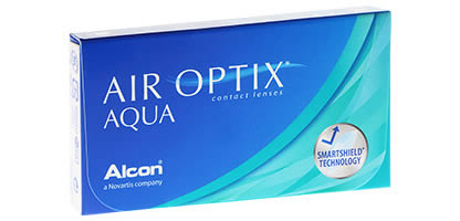 Air Optix Aqua Lentilles de Contact
