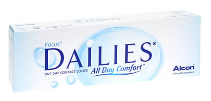 Focus Dailies All Day Comfort Lentilles de Contact